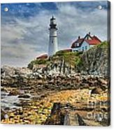 Maine Head Light Acrylic Print