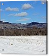 Maine Mountains Acrylic Print