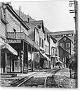 Mainstreet Burke Ghost Town - Idaho Acrylic Print