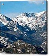 Majestic Rockies Acrylic Print