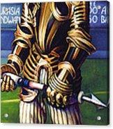 Major League Gladiator Acrylic Print