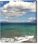 Makena Sea And Sky Acrylic Print