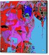 Makeup 8 Acrylic Print