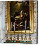 Malachite And Lapis Lazuli Altar Acrylic Print