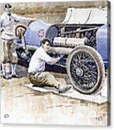 Malcolm Campbell Sunbeam Bluebird 1924 Acrylic Print