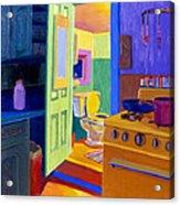 Malden Bathroom 1977 Acrylic Print