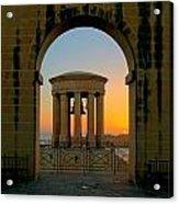 Maltese Sunrise Acrylic Print