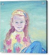 Malve Portrait Acrylic Print