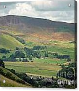 Mam Tor - Derbyshire Acrylic Print by Graham Taylor