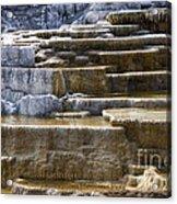 Mammoth Hot Springs Acrylic Print