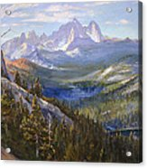 Mammoth Lakes In The High Sierras Acrylic Print
