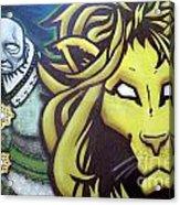 Man And Beast Acrylic Print