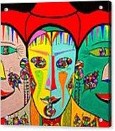 Man In Reverse II Acrylic Print