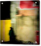 Man In The Shadows Acrylic Print