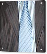 Man Wearing A Suit And Tie Acrylic Print