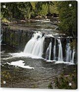 Manabezho Falls 2 Acrylic Print