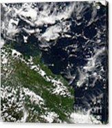 Manam Island, Papua New Guinea Acrylic Print