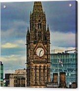 Manchester Town Hall Acrylic Print