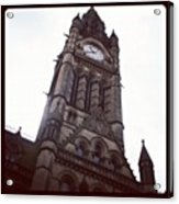 Manchester's Beautiful Town Hall Acrylic Print by Chris Jones