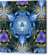 Mandala Animal Wisdom Acrylic Print