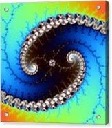 Mandelbrot Byways No. 4 Acrylic Print
