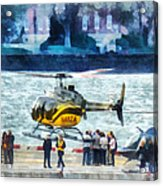 Manhattan Heliport Acrylic Print