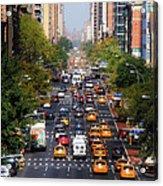 Manhattan Street Acrylic Print