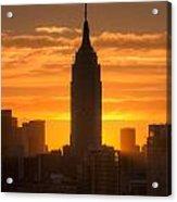 Manhattan Sunrise II Acrylic Print