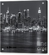 Manhattan Twilight Vii Acrylic Print