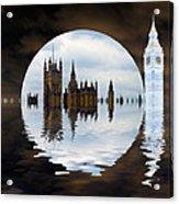 Manipulated Politics Acrylic Print