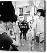 Mannequins At Peggy Sues 50's Diner Acrylic Print