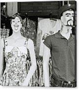 Mannequins Acrylic Print