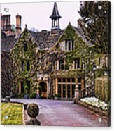 Manor House At Castle Combe  Acrylic Print