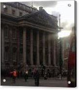 Mansion House City Of London Acrylic Print