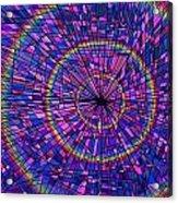 Many Rainbows Acrylic Print