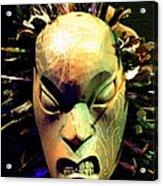 Maori Mask Two Acrylic Print