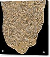 Map Of Mesopotamia Acrylic Print
