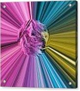 marabou Colour Splash Acrylic Print