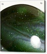 Marble Green Onion Skin 3 Acrylic Print