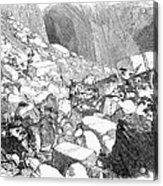Marble: Quarry, 1852 Acrylic Print