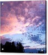 Marble Sky Acrylic Print