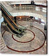 Marble Staircases Acrylic Print