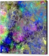 Marbled Clouds Acrylic Print