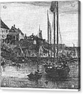 Marblehead: Fishing Boats Acrylic Print