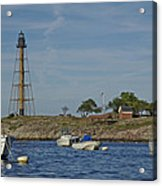 Marblehead Lighthouse From The Water Acrylic Print