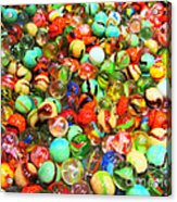 Marbles - Painterly Acrylic Print