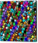 Marbles..or...gumballs Acrylic Print