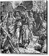 Marc Antony & Cleopatra Acrylic Print by Granger