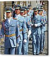 Marching Guards Acrylic Print