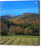 Marcy Field Autumn View Acrylic Print